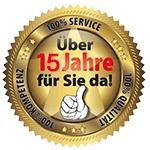 Mehr als 15 Jahre, sind wir für unsere Kunden da. Totos